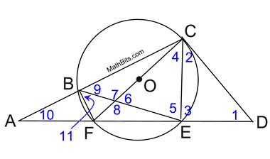 Practice with BIG Circles - MathBitsNotebook(Geo - CCSS Math)