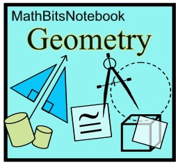 Basic Geometric Symbols and Labeling - MathBitsNotebook (Geo